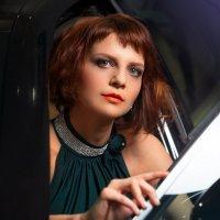 В машине :: Юлия Астратенко