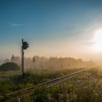 Дорога к восходящему солнцу. Версия 2. :: Andrei Dolzhenko