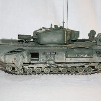 Infantry Tank Mk IV, Churchill :: Александр Якуба