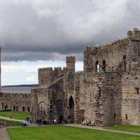 Средневековый замок Карнарвон. :: Ольга