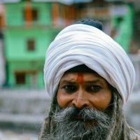 Портрет садху. Ганготри, Индия 2012. :: Олег Мишунов