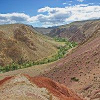 Долина реки Кызыл-Чин :: val-isaew2010 Валерий Исаев
