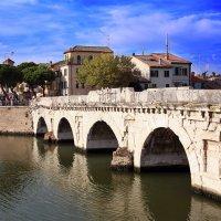 Мост Тиберия, Римини :: Larisa Ulanova