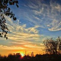 Осенний закат :: Юрий Фёдоров