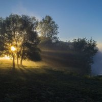 Свет сквозь туман :: Сергей Корнев