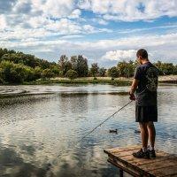 На рыбалке. :: Александр Селезнев