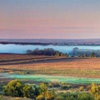 Линия утреннего тумана :: Юрий Стародубцев