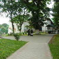 Внутренний двор монастыря сегодня :: Надежда