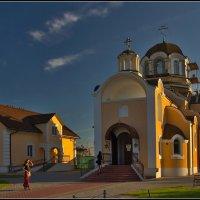 строится храм :: Дмитрий Анцыферов