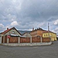 в городе Осек, Чехия :: Елена