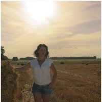 в поле :: Екатерина К..