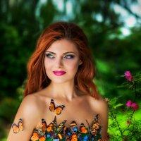 Девушка в бабочках :: Светлана
