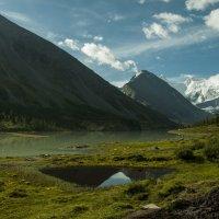 в долине озера Ак-кем, под Белухой :: Ларико Ильющенко