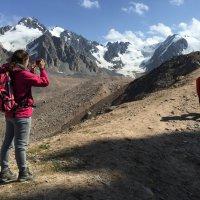 Альпиниада на пик Молодежный (4147 метров). :: Anna Gornostayeva