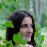 Портрет в парке :: Руслан Веселов
