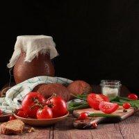 Простая  еда :: Наталья Казанцева