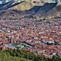 Перу. Вид на Куско с горы Христо Бланко :: Андрей Левин