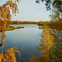 осенний пейзаж :: Сергей Швечков