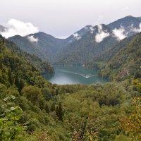Горное  озеро :: АЛЕКС