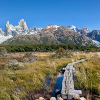 Начало пути в горы Патагонии :: vicbelko