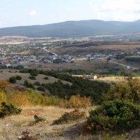 г. Старый Крым. Вид с горы Агармыш. :: Lana