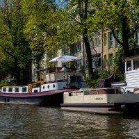 Жилой фонд на воде, Амстердам :: Witalij Loewin