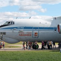 Самолет Ил-76М :: Анастасия Яковлева