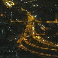 """Ночной Бангкок. """"Золотая река."""" :: Сергей Калиновский"""