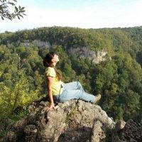 На водопадах Руфабго :: Иркиза Снежная