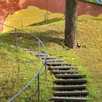 Крутые ступеньки лестницы жизни.... :: Tatiana Markova