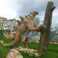 Парк динозавров  - «Юркин парк» :: Наиля