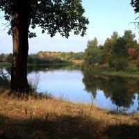 осенний вечер на реке :: Андрей Дружинин