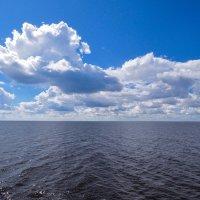 Бескрайнее Горьковское море :: Сергей Тагиров