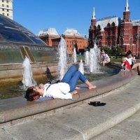 Я на солнышке лежу... :: Мила