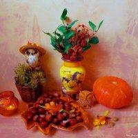 Осень у совушек :: Nina Yudicheva