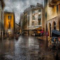 Дождь в Вероне :: Анна Корсакова