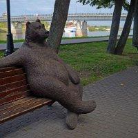 Новгородский медведь :: Наталья Левина