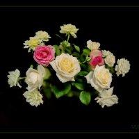 Лепестки белых роз... Нежные... нежные. :: Людмила Богданова (Скачко)