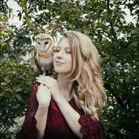 Девушка и сова :: Anton Shumaev