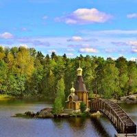 Церковь Андрея Первозванного на Вуоксе :: Marina Pavlova