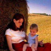 в поле :: Лариса Тарасова