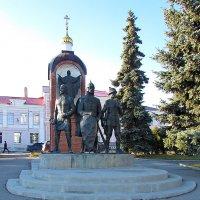 Памятник защитникам Ельца :: Canon PowerShot SX510 HS