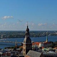 Виды Риги с башни церкви Святого Петра. :: Аркадий