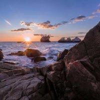 Рассвет на мысе Корасан. Черное море. :: Zifa Dimitrieva