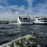 Речные круизные суда, Амстердам :: Witalij Loewin