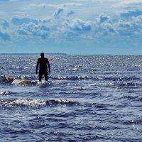 А на Финском заливе был, летом, солнечный день... :: Лара ***