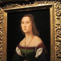 Рафаэль. Женский портрет (немая).1507 г. :: Маера Урусова