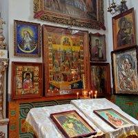 Церковь всех Крымских святых и ФЕОДОРА СТРАТИЛАТА. :: Tata Wolf
