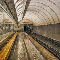 Московское метро. Достоевская. :: Larisa