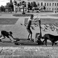 Покатушки на Театральной! :: Владимир Шошин